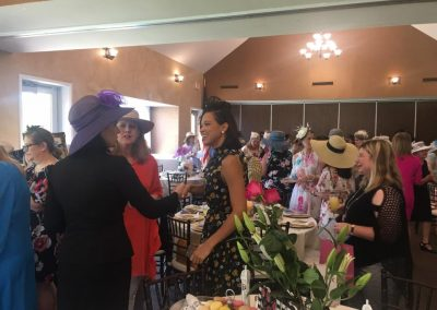 Mixing and mingling at the high tea